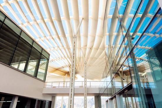 建筑的概念来自于光和影