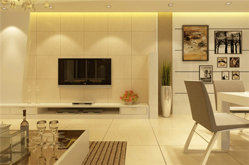 电视背景墙简约风如何设计 电