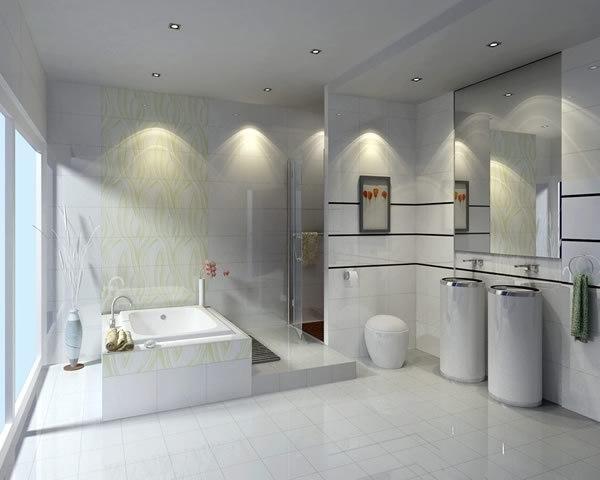 卫生间半墙瓷砖