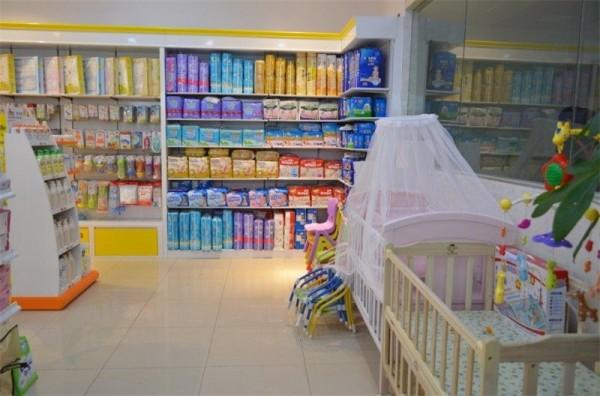 孕婴店装修效果图