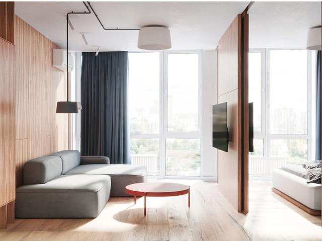 2个不同的现代风格室内家居设计