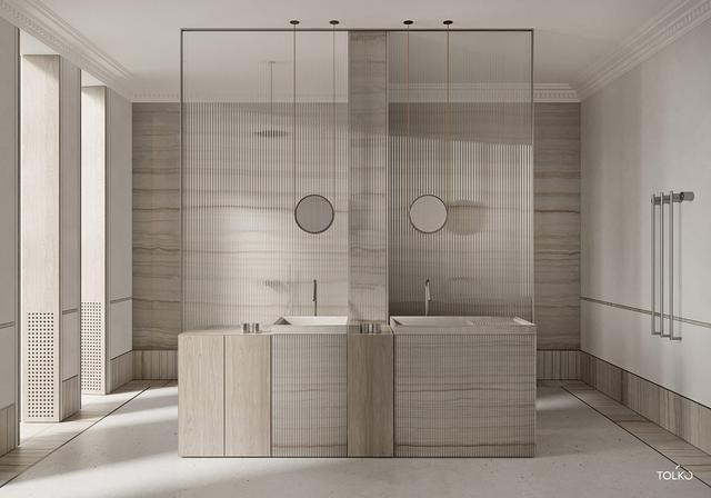 独特中性的装修风格 把现代居室装出悠闲的感觉