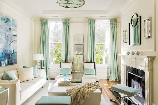 客厅怎么选择颜色搭配